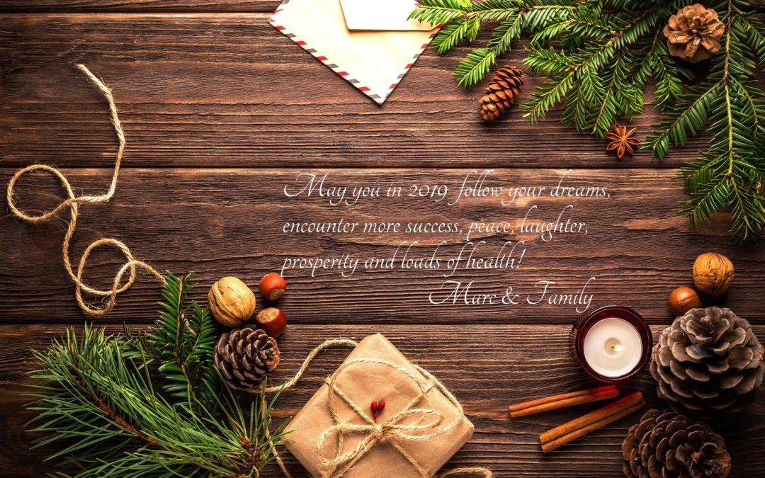 Wishing you a year …