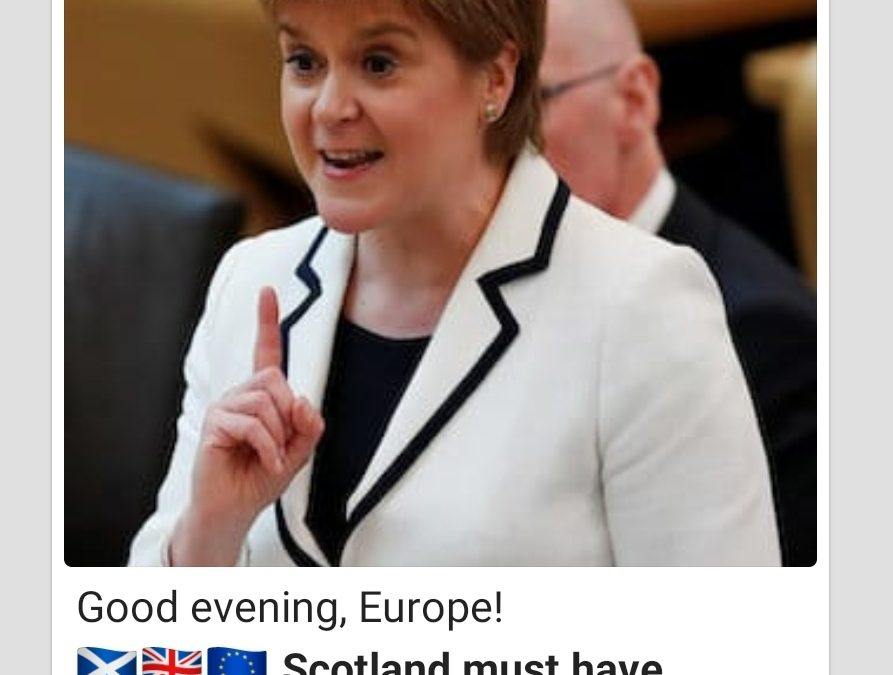 Scotland's nail in coffin of Brexit